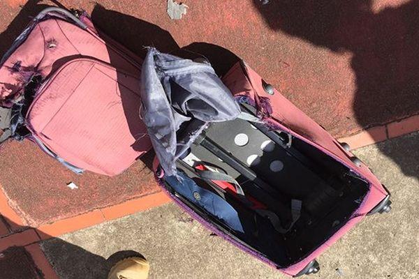 valise ssupecte