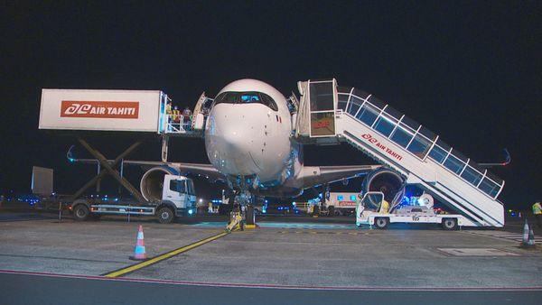 Transfert 8 patients covid vers Paris
