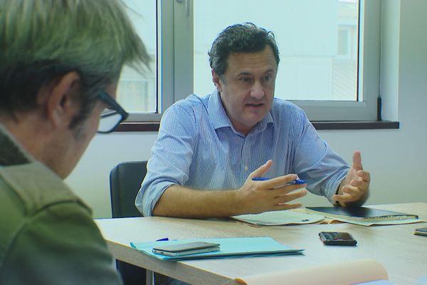 Antonin Beurrier, PDG de Vale, annonce la signature d'accords avec New Century, mai 2020