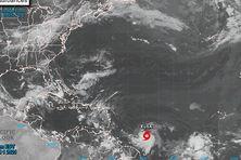 Position de la tempête tropicale Elsa jeudi matin 1er juillet 2021.