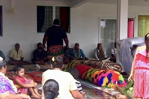 domicile futur communiant à Halalo, 2015