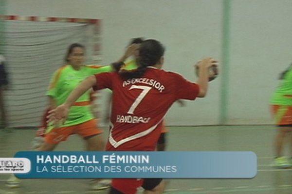 Handball féminin : la sélection des communes