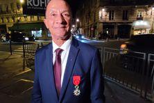 Rodolphe Alexandre promu officier de la légion d'honneur ce 27 octobre au palais de l'Elysée