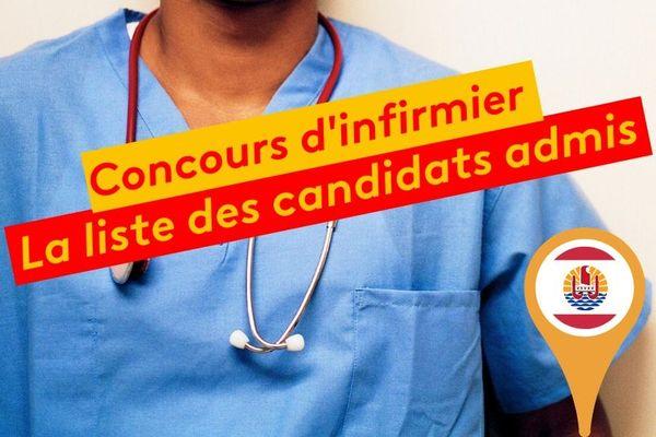 Les candidats admis au concours d'infirmiers CEAPF 2020