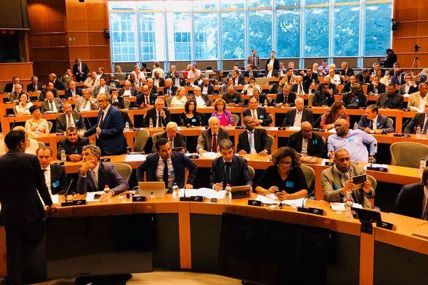 Amphithéâtre de la commission européenne