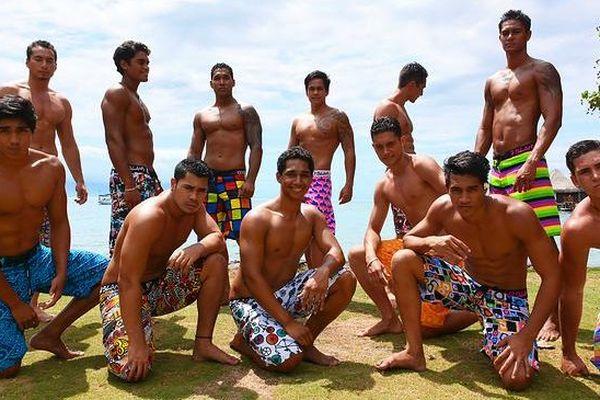Les 12 candidats mister tahiti 2013
