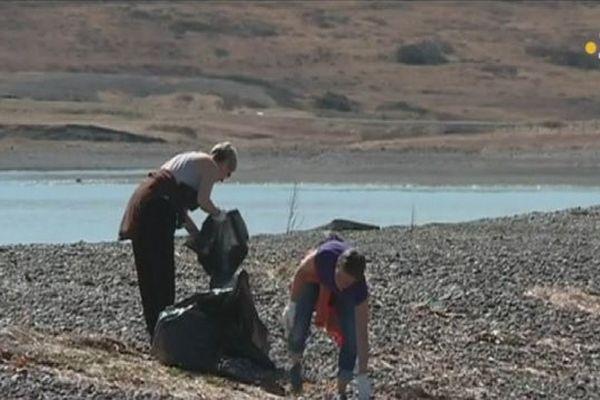 Nettoyage de printemps à Miquelon