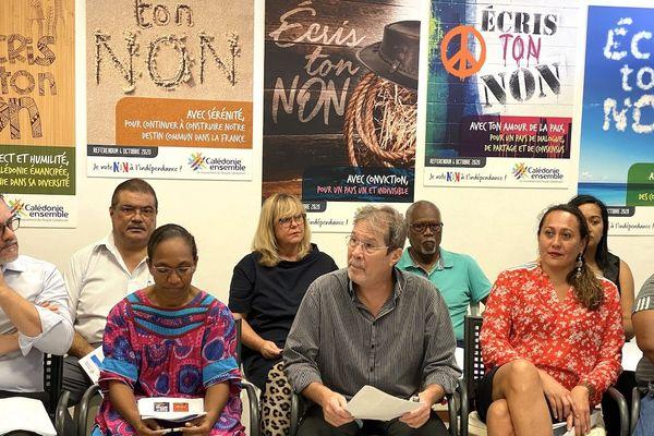Campagne référendaire de Calédonie ensemble, «écris ton non», 28 juillet 2020