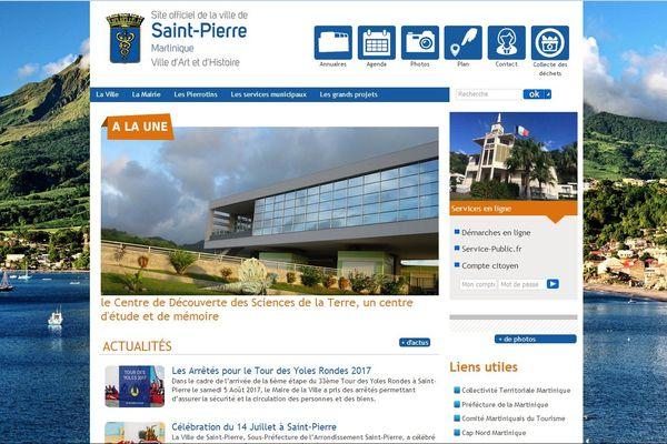 Site internet Saint-Pierre