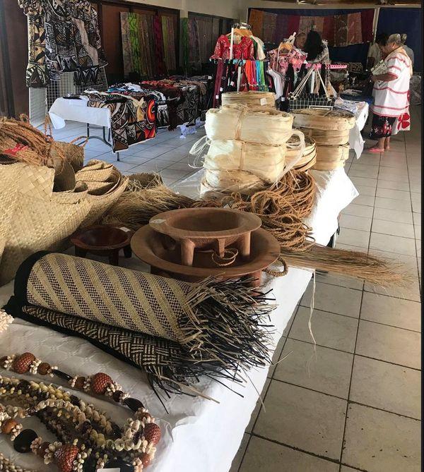 expo vente artisanat foyer wallisien paita