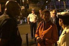 La ministre des outre-mer, George Pau Langevin à l'occasion d'une précédente visite officielle en 2014.