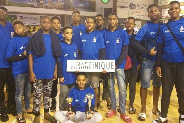 Martinique basket U 13