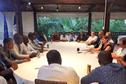 """Mayotte : un """"accord de principe"""" trouvé entre les manifestants et Annick Girardin"""