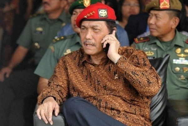 Indonésie. Luhut Pandjaitan