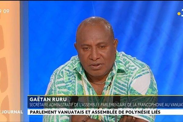 Gaétan Ruru dresse le bilan de la visite de la délégation ni Vanuatu à Tahiti