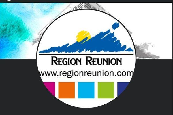Capture d'écran de la nouvelle page Facebook de la Région Réunion.