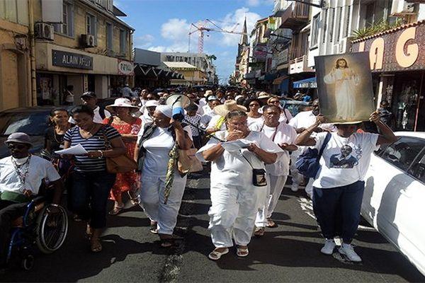 Manifestation des catholiques