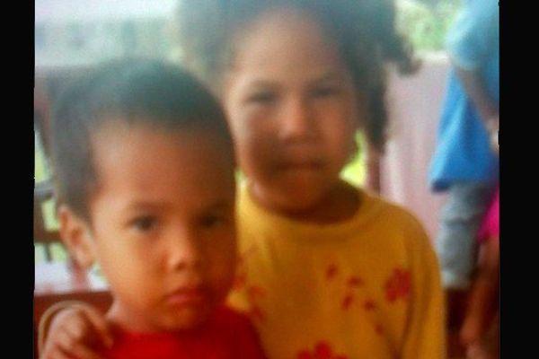 Deux enfants enlevés