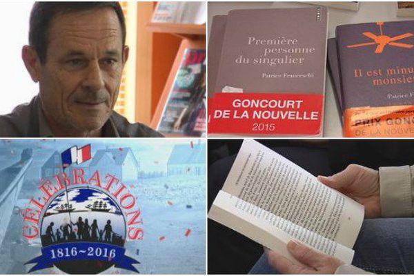 L'écrivain baroudeur Patrice Franceschi à Miquelon