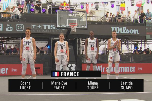 L'équipe de France est passée près de battre les Etats-Unis dans la poule A.