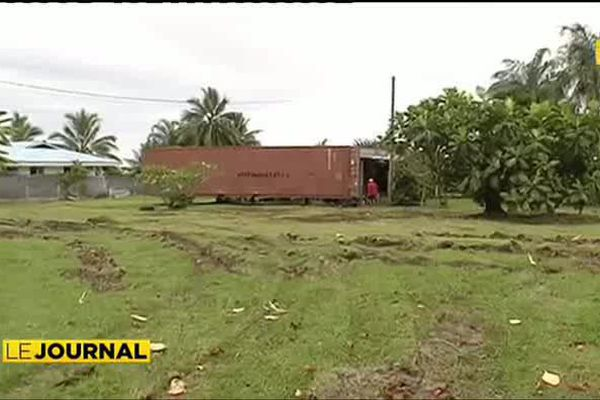 """Risque cyclonique : des """"containers"""" pour faire face"""