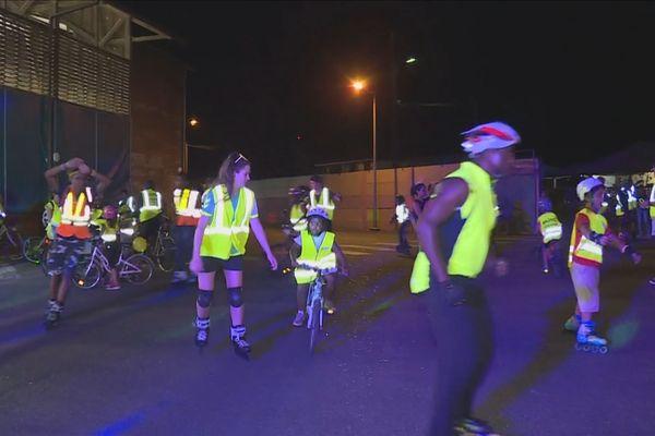 Saint - Laurent : une randonnée nocturne en roller