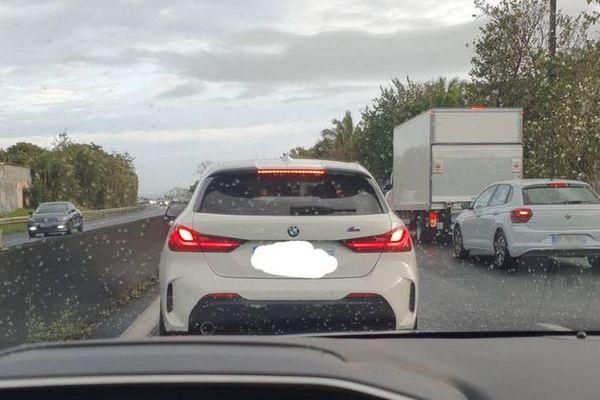 circulation trafic accident Est Saint-André 051020