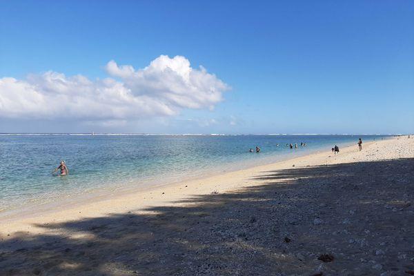 plage à Trou d'eau