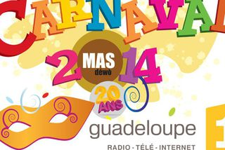 Visuel carnaval Guadeloupe 1ère
