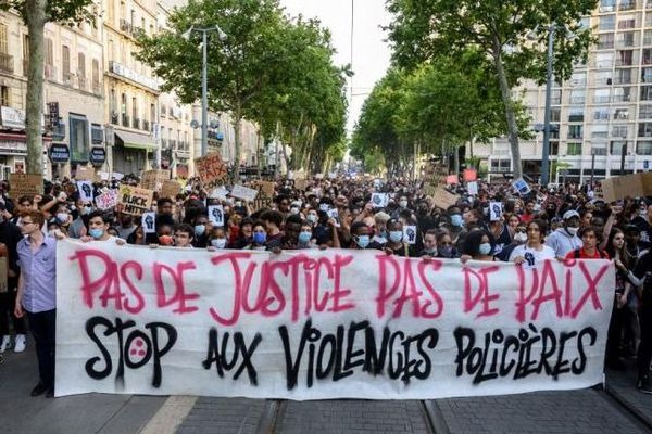 Manifestation anti racisme / violences policières