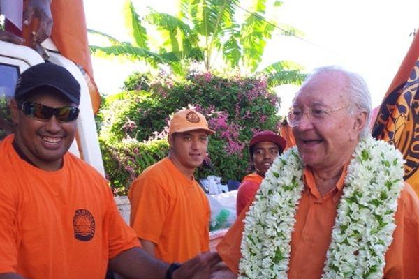 Gaston Flosse et le parti orange larges vainqueurs des Territoriales en Polynésie