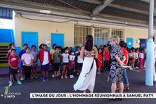 Hommage à Samuel Paty dans un centre de loisirs à Saint-Denis de La Réunion