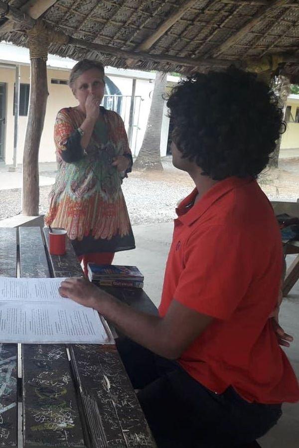 Révisions à Do Kamo avant le bac, 21 octobre 2019, Sophie Piccinini