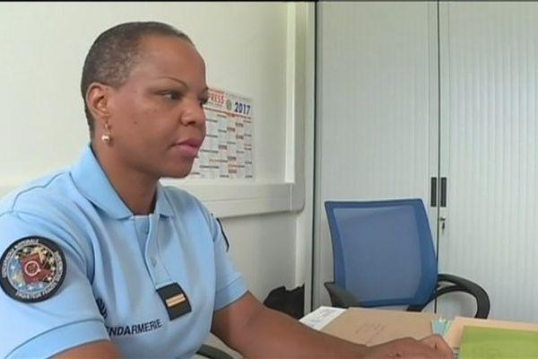 Adjudante Lambourdière Femme gendarme