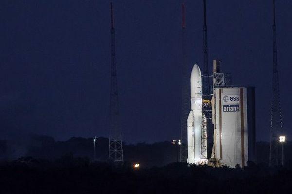 Le 6 septembre dernier, le tir Ariane 5 n'avait pas eu lieu au Centre Spatial Guyanais.