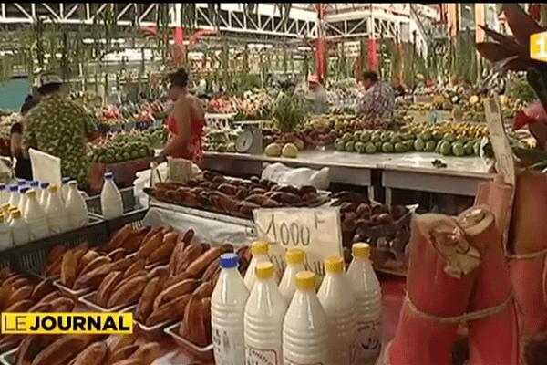 Rénovation du marché, cœur du secteur primaire de Tahiti