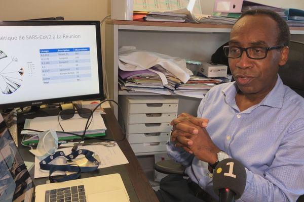 Docteur Patrick Mavingui unité UMR Pimit Université de La Réunion