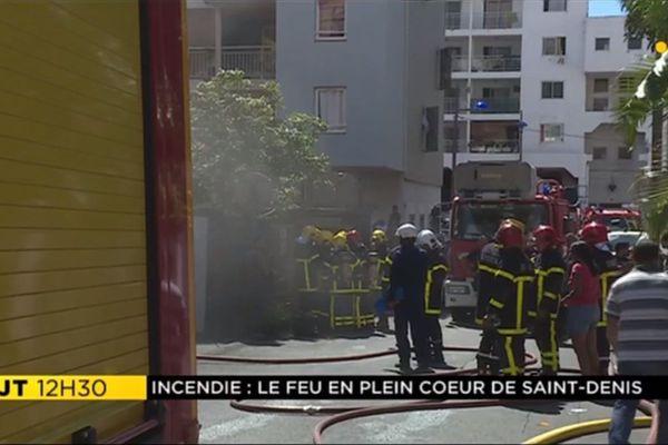 Incendie Ruelle Pavée 050518