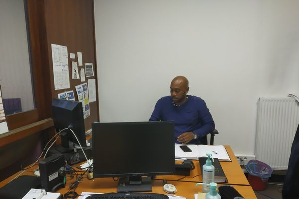 Patrice Najos, ambulancier régulateur