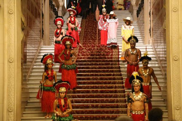 Une association polynésienne s'occupe de l'accueil des invités