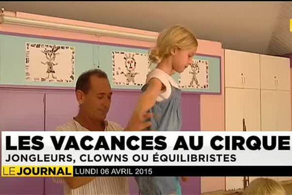 Les vacances au cirque