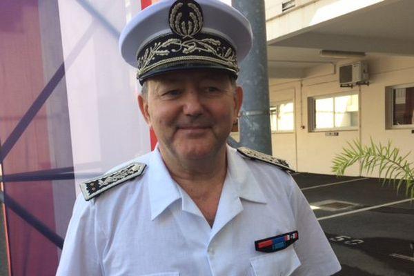 Portrait commissaire général Alain Martinez installation 13 juillet 2017