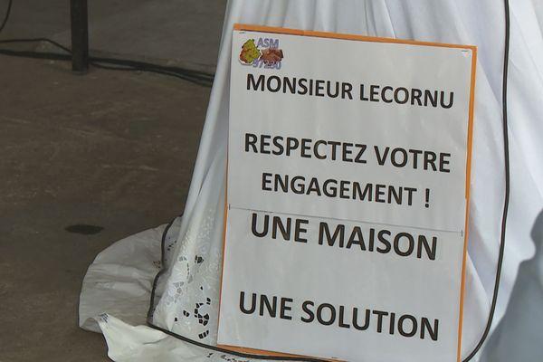 Slogan des sinistrés de Sainte-Marie