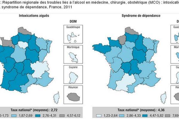 Alcool en France et à La Réunion