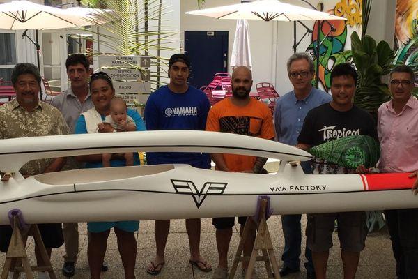 Les grands gagnants du jeu spéciale Hawaiki Nui Va'a 2016