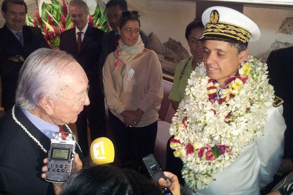 Arrivee de Lionel Beffre nouveau haut-commissaire 2