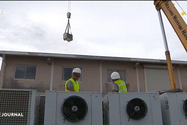 Importants travaux de manutention au port de pêche de Papeete