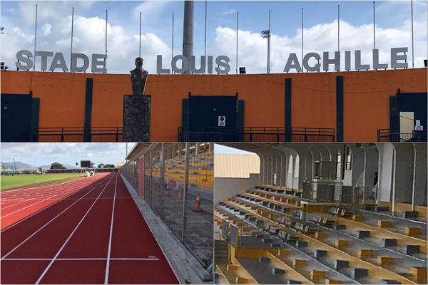 Stade Louis Achille / sport / foot