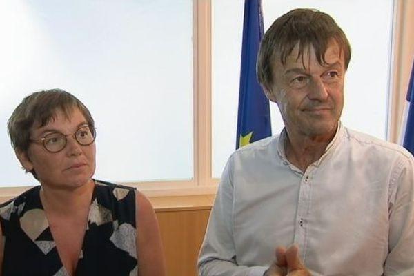 Annick Girardin et Nicolas Hulot
