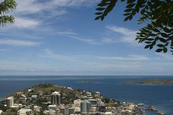 Port Moresby en Papouasie Nouvelle Guinée